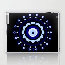 Evil Eye Flower Burst Laptop & iPad Skin