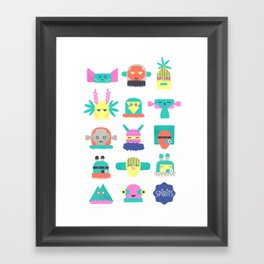Assembly of Spirits  Framed Art Print