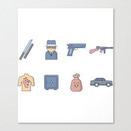 Yakuza Gangster Canvas Print