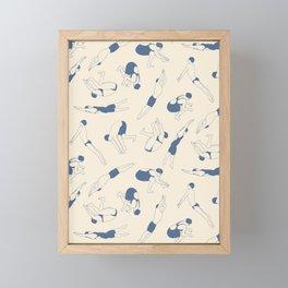 On Your Marks Framed Mini Art Print