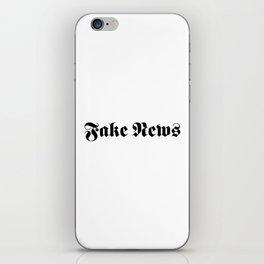 Fake News iPhone Skin