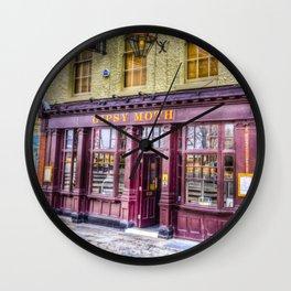 The  Gypsy Moth Pub Greenwich Wall Clock