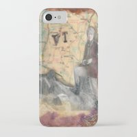 vermont iPhone & iPod Cases featuring Vermont by Marnie