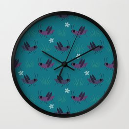 Crickets Wall Clock