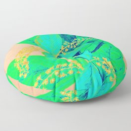 Cannas Sprouting Floor Pillow