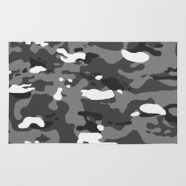 Military Camouflage: Urban II Rug