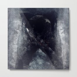disquiet twenty six (cross at) Metal Print
