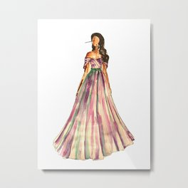 Belle Of The Ball Metal Print