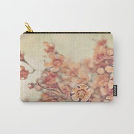 Orange Waxflowers Carry-All Pouch