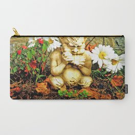 Mystical Flowers and Statue Carry-All Pouch