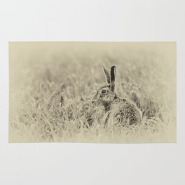 Brown Hare Rug