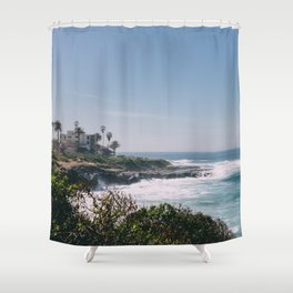 La Jolla  Shower Curtain