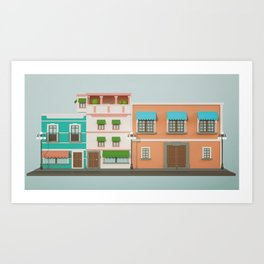 16S A Art Print
