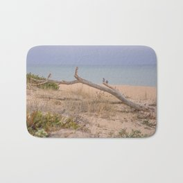 Old branch beach Bath Mat