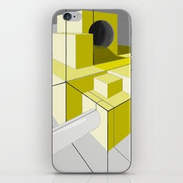 Perspective in Yellow iPhone Skin