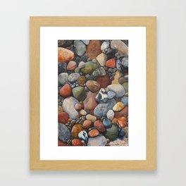Rocky Road Framed Art Print