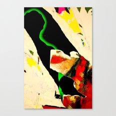 Face Mood Canvas Print