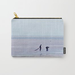 Treasure Hunters on the Beach Carry-All Pouch