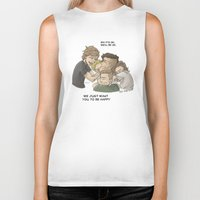 zayn Biker Tanks featuring Goodbye Zayn by Aki-anyway