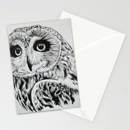Short-eared Owl Stationery Cards