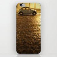 vw iPhone & iPod Skins featuring VW Beetle by Maria Heyens
