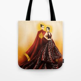Fire Nation's Royal Siblings Tote Bag