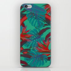 Blue Jungle iPhone Skin
