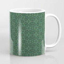 Green stars Coffee Mug