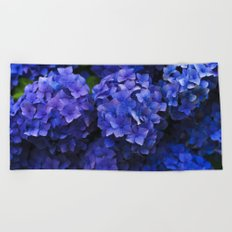 Hortensia Beach Towel