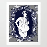 SPRINGS/FLINGS Art Print