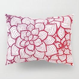 Flowers - Lines 2 Pillow Sham