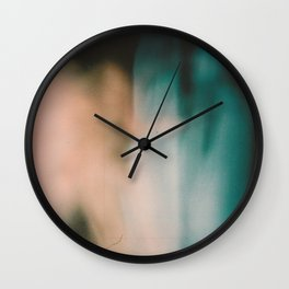 Dark Lights. Wall Clock