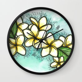 Hawaiian Sun Wall Clock