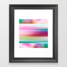 The Sound of Light and Color | PASTEL TRIPLET Framed Art Print