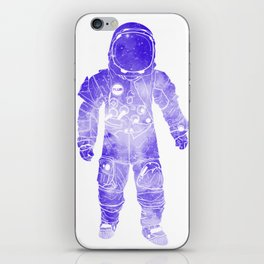 Rave Invaders PLUR Space Force Astronaut iPhone Skin