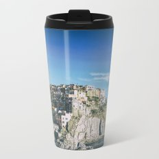 Manarola, Cinque Terre in Italy Metal Travel Mug