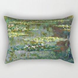 1904-Claude Monet-Le Bassin des Nympheas-87 x 91 Rectangular Pillow