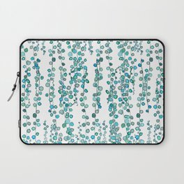 string of pearl watercolor Laptop Sleeve