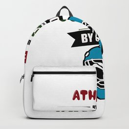 Athlete By Nature Goalie Mom By Choice Hockey Backpack