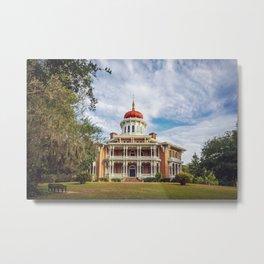 Longwood Home in Natchez Metal Print