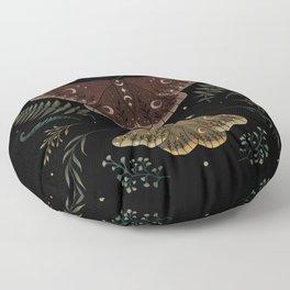 Saturnia Pavonia Floor Pillow