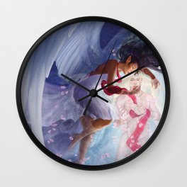 Now Cracks a Noble Heart Wall Clock