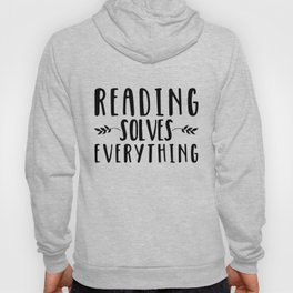 Reading Solves Everything Hoody
