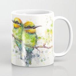 Family (Rainbow Bee Eaters) Coffee Mug