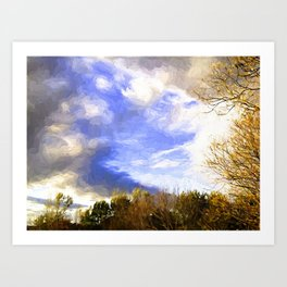 Autumn Afternoon Art Print
