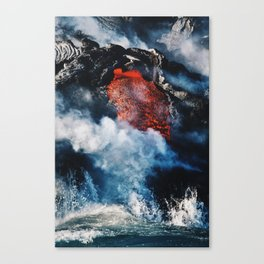Fire and Fury Canvas Print