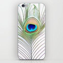 Eye of the Peacock iPhone Skin