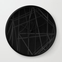 Abstract Architectural Design Wall Clock