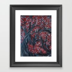 Holding Autumn Framed Art Print