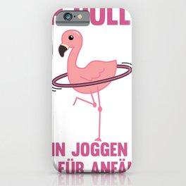 Flamingo Hullern Sport Pink Sweet Bird iPhone Case